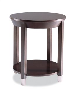 340-930 Round Lamp Table