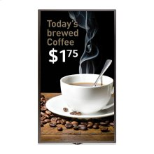 "65"" class (64.5"" diagonal) Edge-Lit LED IPS Digital Signage Display"