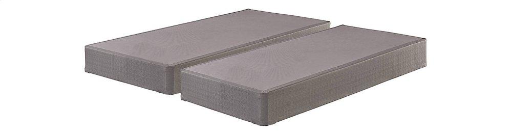 Foundation - Gray 2 Piece Mattress Set