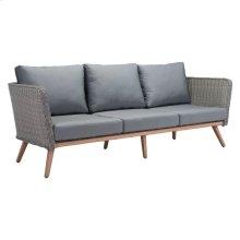 Monaco Sofa Natural & Gray