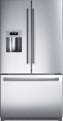 "Serie  8 36"" Standard Depth French Door Bottom-Freezer 800 Series - Stainless Steel B26FT70SNS"