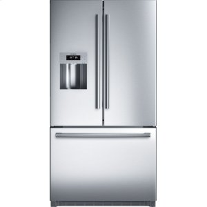 "BOSCHSerie  8 36"" Standard Depth French Door Bottom-Freezer 800 Series - Stainless Steel B26FT70SNS"