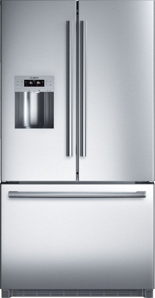 "Serie  8 36"" Standard Depth French Door Bottom-Freezer 800 Series - Stainless Steel B26FT70SNS-CLOSEOUT"