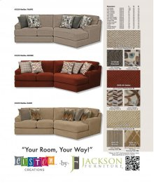 4-Piece Sectional with RSF Chaise