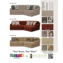 Armless Sofa/Loveseat