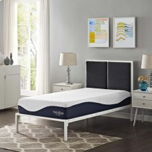 "Caroline 10"" Twin Memory Foam Mattress"