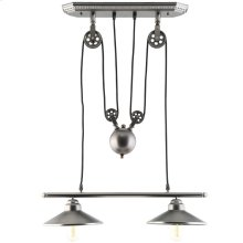 Innovateous Ceiling Fixture in Silver