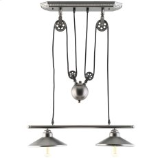 Innovateous Ceiling Fixture in Silver Product Image