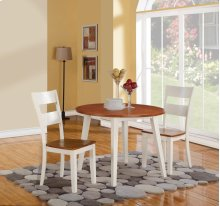 3 Piece Dining - Dining Table and Two Side Chairs