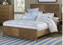 5/0 Queen Panel Bed - Jute Finish