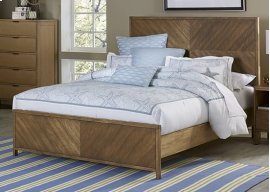 6/6 King Panel Bed - Jute Finish