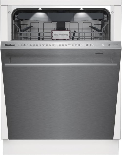 "24"" Tall Tub dishwasher 9 cycles top control 3rd rack stainless self clean 39dBA"