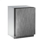 """u-lineModular 3000 Series 24"""" Freezer With Integrated Solid Finish and Field Reversible Door Swing (115 Volts / 60 Hz)"""