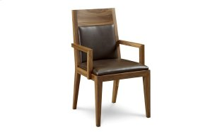 Phase Upholstered Back Arm Chair