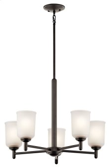 Shailene 5 Light Chandelier Olde Bronze®