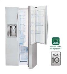 26 cu.ft. Ultra Capacity Side-By-Side Refrigerator with Door-In-Door®