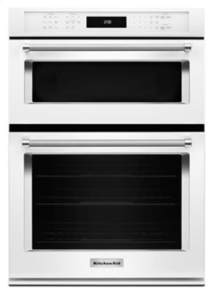 "27"" Combination Wall Oven with Even-Heat™ True Convection (lower oven) - White"