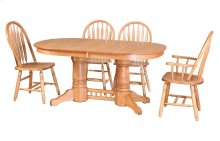 "42/64-2-12"" Sqr/Rnd Trestle Table"