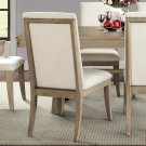 Sophie - Upholstered Side Chair - Natural Finish Product Image