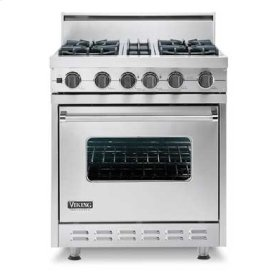"Metallic Silver 30"" Sealed Burner, Self-Cleaning Range - VGSC (30"" wide range with four  burners)"