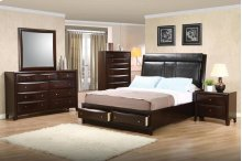E King 4pc Set (KE.BED,NS,DR,MR)