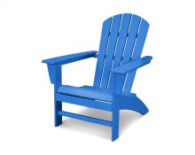 Pacific Blue Nautical Adirondack Chair