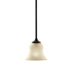 Wedgeport Collection Mini Pendant 1Lt Fluorescent OZ