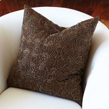 Encrusted Pillow-Copper