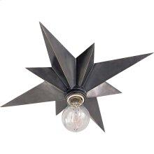 Visual Comfort SC4000BZ Eric Cohler Star 1 Light 15 inch Bronze Flush Mount Ceiling Light
