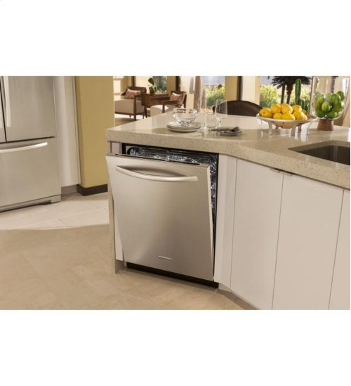 KitchenAid® 24-Inch 6-Cycle/7-Option Dishwasher, Architect® Series II - Stainless Steel