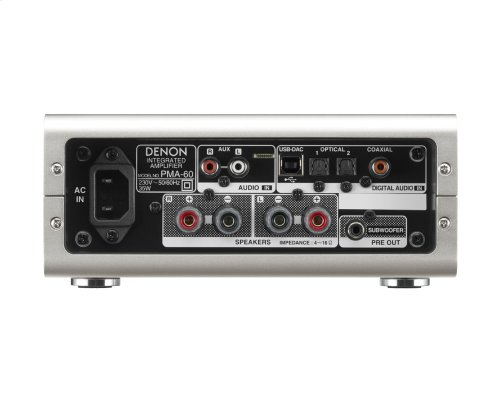 Denon Design Series Digital Integrated Amplifier. Real Hi-Fi for today s lifestyles.