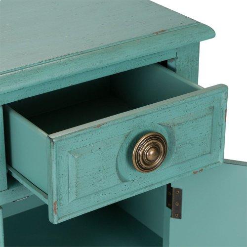 2 Drawer 2 Door Accent Cabinet