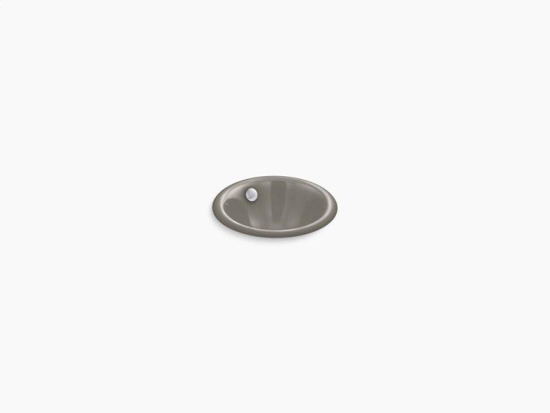 Cashmere Round Drop In Under Mount Bathroom Sink