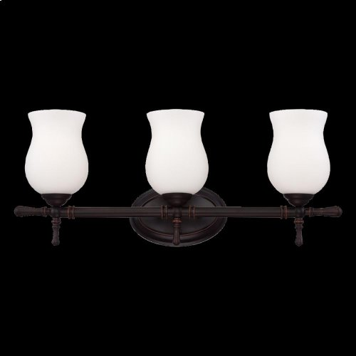 3-LIGHT BATHBAR - Oil Rubbed Bronze
