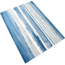 Azure Watercolor Rug