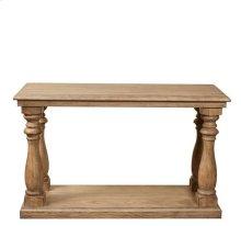 Sherborne Sofa Table Toasted Pecan finish