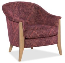 Domestic Living Room Easy Breezy Exposed Wood Chair