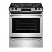 Frigidaire 30'' Slide-In Gas Range SPECIAL CLEARANCE