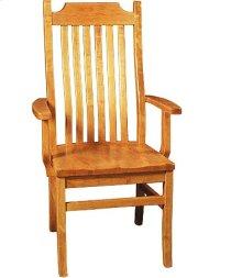 Madison Arm Chair w/ Wood Seat