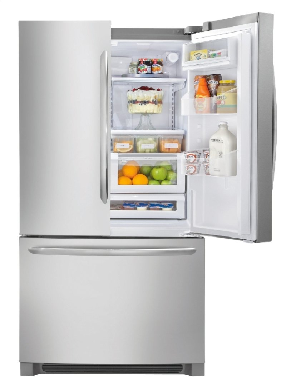 Crosley Bottom Freezer Refrigerators Stainless Steel Hidden