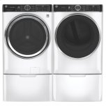Ge(r) 5.0 Cu. Ft. Capacity Smart Front Load Energy Star(r) Steam Washer With Smartdispense(tm) Ultrafresh Vent System With Odorblock(tm) And Sanitize + Allergen