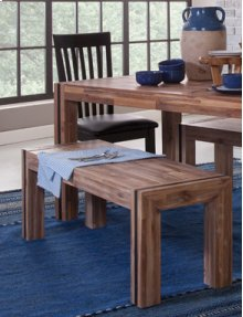 Rustic Bench Sierra Brown