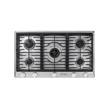 "Renaissance 36"" Gas Cooktop, in Stainless Steel, Liquid Propane - High Altitude"