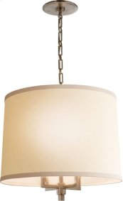 Visual Comfort BBL5030PWT-L Barbara Barry Westport 4 Light 24 inch Pewter Finish Hanging Shade Ceiling Light