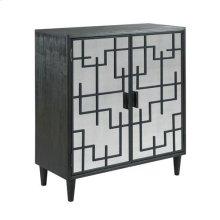 Hidden Treasures Modern Fret Cabinet
