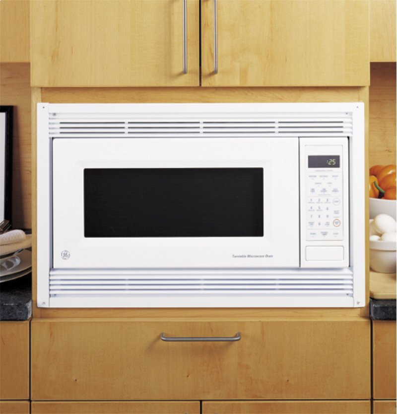Deluxe Trim Kit For Countertop Microwave Models Jem31 Jem25 Bisque