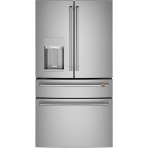 Cafe AppliancesENERGY STAR ® 27.8 Cu. Ft. Smart 4- Door French-Door Refrigerator
