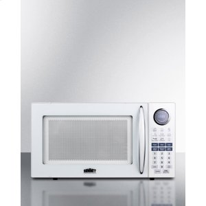SummitLarge 1000w Microwave In White Finish; Replaces Sm1100w