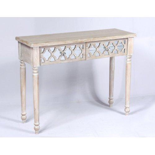 Emerald Home Ac701 00 Canterwood Sofa Table Whitewash