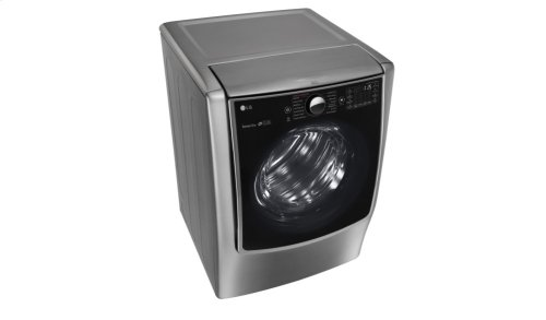 9.0 cu.ft. Mega Capacity TurboSteam Electric Dryer w/ On-Door Control Panel